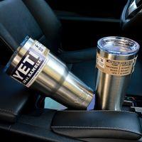 304 Stainless Steel 30 oz Yeti Cups Cooler YETI Rambler Tumb...