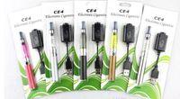 kits de cigarrillos Blister CE4 arranque kits electrónicos atomizador CE4 650mAh batería de 900mAh 1100mAh en envases de plástico de varios colores DHL libres