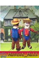 MALL106 Cartoon Costume Animals Cowboys Mascot Costumes Fanc...