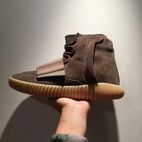 (with Box, Receipt)2016 New Arrival Kanye West 750 Boost Ligh...