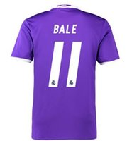 Customized Thai Quality 2016- 17 Away Purple #11 Bale Jersey ...