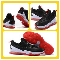 Wholesale LeBron 13 Low bred Basketball Shoes Lebron XIII EP...
