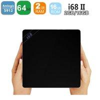 i68 II 2GB 16GB Android 6. 0 TV Box Amlogic S912 Octa Core Ko...