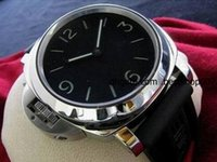 whole mens left handed watches buy cheap mens left handed 2016 new brand new box men s men s stainless steel base destro left handed automatic watch black dial pam 219 leather mens watches