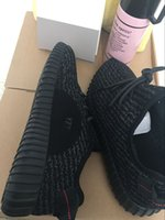 (without Box )Cheap Yeezy Boost 350 Pirate Black Kanye West ...