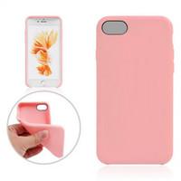 Para el iphone 7 Caso suave de TPU ultra fina de caucho de silicona de plástico cajas del teléfono cubierta para el iphone7