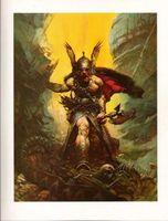 Темное Королевство, 100% Handpainted Фрэнк Фрэзетта фантазия Картина маслом на холсте высокого качества для декора стены Unreretched Unframe