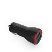 Dual USB портативный сигарета зарядное устройство адаптер автомобильного прикуривателя Общий Подключите Универсальный выход 2.4A предотвращения короткого замыкания Быстрое зарядное устройство Автомобильное зарядное устройство