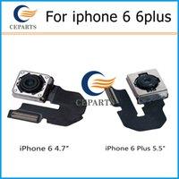 Pour iPhone 6 4.7 iPhone 6 Plus 5.5 Retour Module arrière de caméra principale Pièce de rechange de câble de ruban flexible
