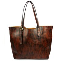 KISSUN Factory Pure Genuine Leather Women Shoulder Bag Vinta...