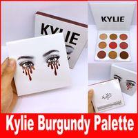 Дженнер Новые палитры Eyeshadow Матчи Ее волосы Бургундский Палитра Kylie kyshadow новую палитру Кайли Косметика