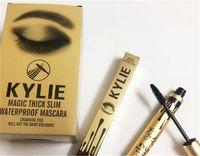 2016 El más reciente gruesa máscara resistente al agua delgada Kylie Jenner Mascara Negro Mágico de ojos Mascara de pestañas cremas y dura más tiempo libre de DHL
