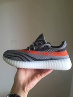 2016 yeey 550 boost Orange Black Yez Season 3 Kanye West Yee...