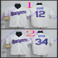 texas rangers #12 rougned odor#34 nolan ryan 2016 Jerseys A...
