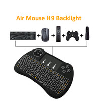 H9 Air Fly Mouse Mini Wireless Handheld Keyboard Backlight 2...