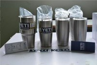 New Hot 304 Stainless Steel 30 oz Yeti Cups Cooler YETI Ramb...