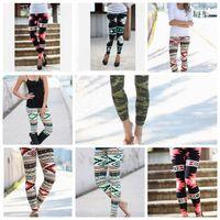 Leggings Femmes Slim Crayon Pantalons Pantalons Fashion Casual Elastiques Leggings Leggings Électrique Leggings Casual Slim 10PCS KKA538
