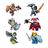 DHL UPS NEXO KNIGHTS clown minifigures Building Blocks 6 des...