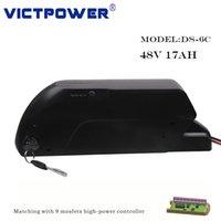 Victpower 13S5P 48V 17Ah 816Wh Литий-ионный аккумулятор для электрических велосипедов Motocycle, с 5V USB порт, включая бесплатный BMS и зарядное устройство 3A