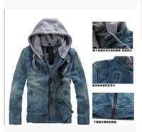 Wholesale Men Casual Suprem Jacket Cowboy Coat Jackets For M...