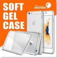 Pour Iphone 7 7 PLUS 6s Note 7 Étui Clear Soft TPU Gel iPhone 6s plus Étui ultra mince [0,3mm Crystal Clear] Étui Samsung, Étui souple arrière