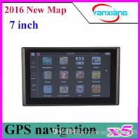 5pcs 7 Inch Slim GPS Navigation System Bluetooth+ FM+ AV IN MA...