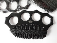 1 pcs AZAN Brass knuckles Knuckle dusters, four fingers iron,...