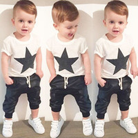 2016 summer style baby boy clothes fashion cotton baby girl ...