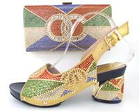 Cherry Lady High quality Nigeria wedding shoes Italian shoes...