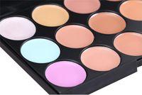 Professional 15 Colors Concealer Foundation Contour Face Cre...