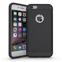 1шт броня Жесткий задняя обложка чехол для Apple Iphone 6S Plus Hybrid Противоударно Luxury Sport ТПУ + PC Phone Case двухслойные Задняя крышка Ударопрочный