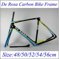 De Rosa 3k weave De Rosa Bicycle Frames SUPER KING 888 D5 Ro...