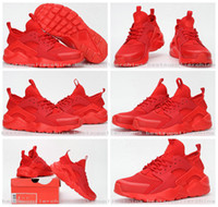 2016 New Design Air Huarache 4 All Red Mesh Huraches Sneaker...