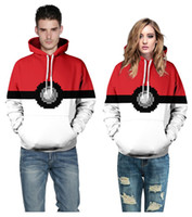 2016 New fashion clothes with hat Poke 3D casual Hoodies Elf...