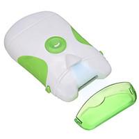 Professional Nail Clipper Vert Roto Tondeuse électrique Safe rapide et facile à deux côtés Nail Art Beauté Accessoire 2016