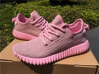 2016 New Sport Shoes Kanye West 350 Boost Pink Women &Men Ca...