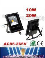 Светодиодный прожектор 10W 20W 30W 40W 50W AC85-265V Прожектор водонепроницаемый высокой мощности лампы рекламный щит на открытом воздухе IP65 LLFA