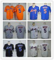 Men' s New York Mets 5 David Wright #34 Noah Snydergaard...