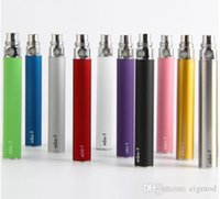 Ego-T Battery E Cig Ego-t E Batteries Cigarette 650 900 1100mAh Suit pour 510 Thread Atomizer Clearomizer Vaporisateur