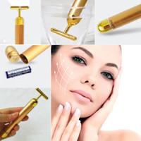 Technology From Japan 24K Gold Face Skin Massage Roller Body...
