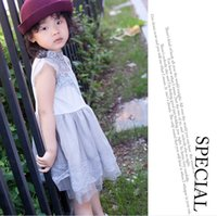 2016 Summer Baby Girls Lace Dress Childrens Fashion Clothing...