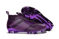 2016 Wholesale ACE 16+ PureControl FG Slip On Soccer Boots M...