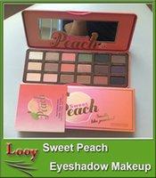 Nouveau maquillage d'arrivée douce Peach Eye Shadow Collection Palette 18 couleurs EYESHADOW Maquillage Frais de port DHL gratuit