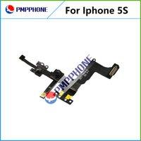 Garantie 100% pour appareil photo Apple iPhone 5S avant avec Sensor Assembly Flex Cable Ribbon Livraison rapide