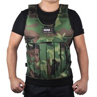 SUTEN 20kg Camouflage Weighted Vest With Shoulder Pads Comfo...