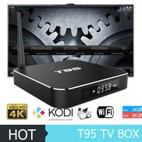 T95 Android TV Box Metal Amlogic S905 TV Box 4K Kodi 16. 1 Lo...