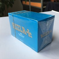 RIZLA Blue Rolling Papers Unbleached Natural Unrefined Rolli...