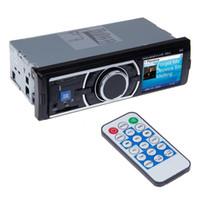 Carte SD du lecteur MP3 de voiture. Support pour disque U à grande capacité. Écran LCD monochrome à entrée AUX; Aucune fonction de DVD de voiture