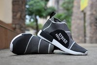 With Box NMD City Sock Mens Womens Running Shoes High Top Sn...