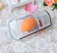 Макияж Губка Puff Фабрика красоты Real Яйца Губка Макияж Розовый Робот Яйцо Тыква пуховкой Пятно с продано пакетом